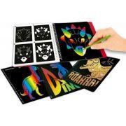 Carte razuibila Magic Scratch Dino World