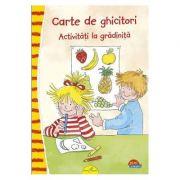 CARTE DE GHICITORI. ACTIVITATI LA GRADINITA