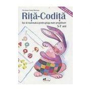 Rita Codita - fise de matematica pentru grupa mare pregatitoare 5-7 ani