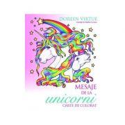 Mesaje de la unicorni Carte de colorat