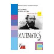 Matematica M1- Manual pentru clasa a XII-a