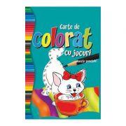 Carte de colorat cu jocuri Uneste punctele!