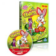 CD 10 Fanica si secretul Legumelor Colectia EduTeca Jocuri Educationale 3-7 ani
