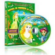 CD 5 Natura se Trezeste la Viata Colectia EduTeca Jocuri Educationale 3-7 ani