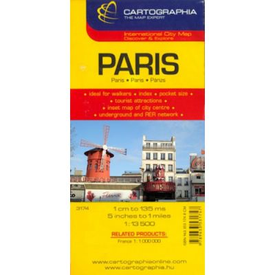 Harta Rutiera Paris Librariauniversitaria Ro