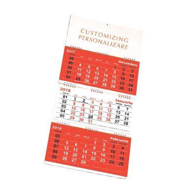 calendar triptic 2018 evitalshop