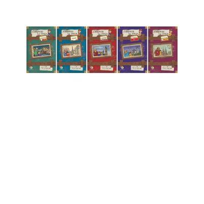 Calatoriile lui Robin - Set 5 volume (Istanbul, Barcelona, Venetia, Paris, Londra)