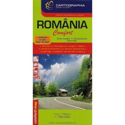 Harta Romania Librariauniversitaria Ro