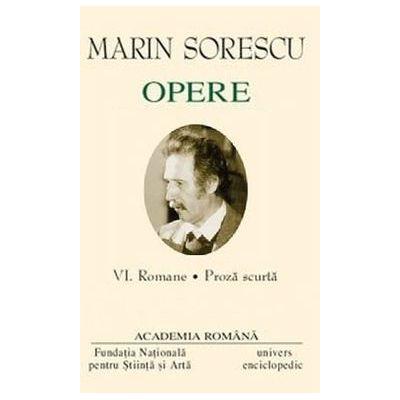 Marin Sorescu OPERE VI