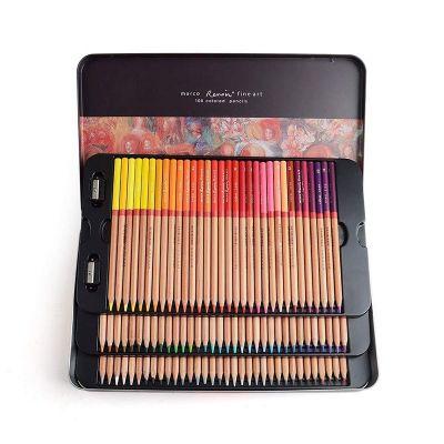 Set 100 de creioane colorate Renoir Marco