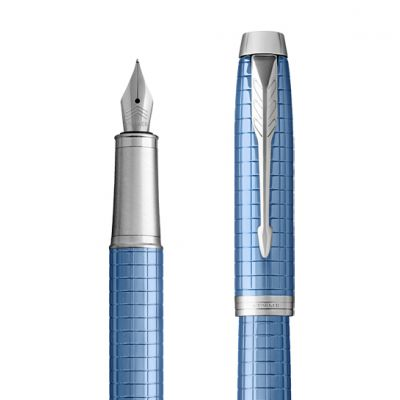 Stilou Parker IM Premium Blue CT Fountain Pen