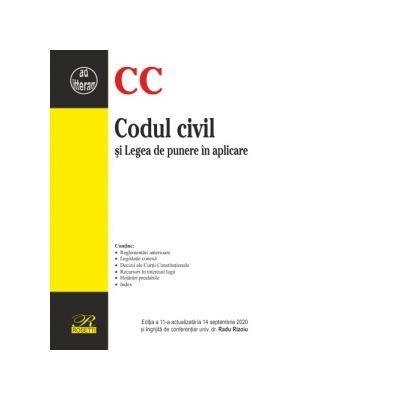 Codul civil si Legea de punere in aplicare