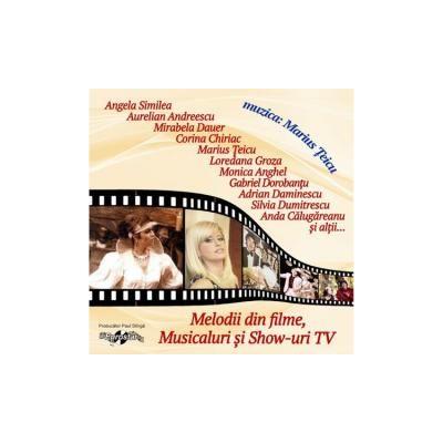 CD-Marius Teicu - Melodii din filme, musicaluri si show-uri TV