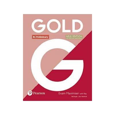 Gold B1 Preliminary Exam Maximiser with Key