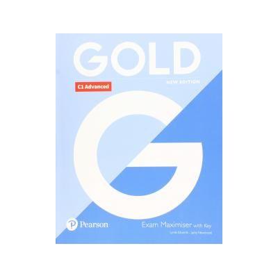 Gold C1 Advanced Exam Maximiser with Key