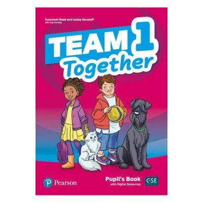 Team together 1 pupils book with digital resources