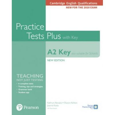 Cambridge English Qualification A2 Key New Edition Practice Tests Plus Student's Book with key