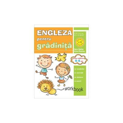 Engleza pentru gradinita, grupa mijlocie Workbook