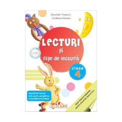 Lecturi si fise de lectura. Clasa a IV-a