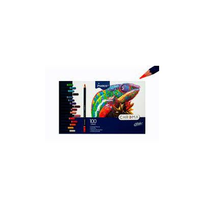 Creioane colorate 100 de culori Marco Chroma