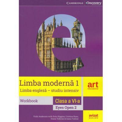 Limba moderna 1 - Limba engleza (studiu intensiv) workbook, clasa 6