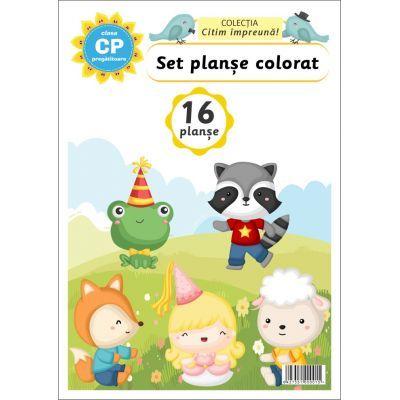 Set planse colorat - Clasa pregatitoare